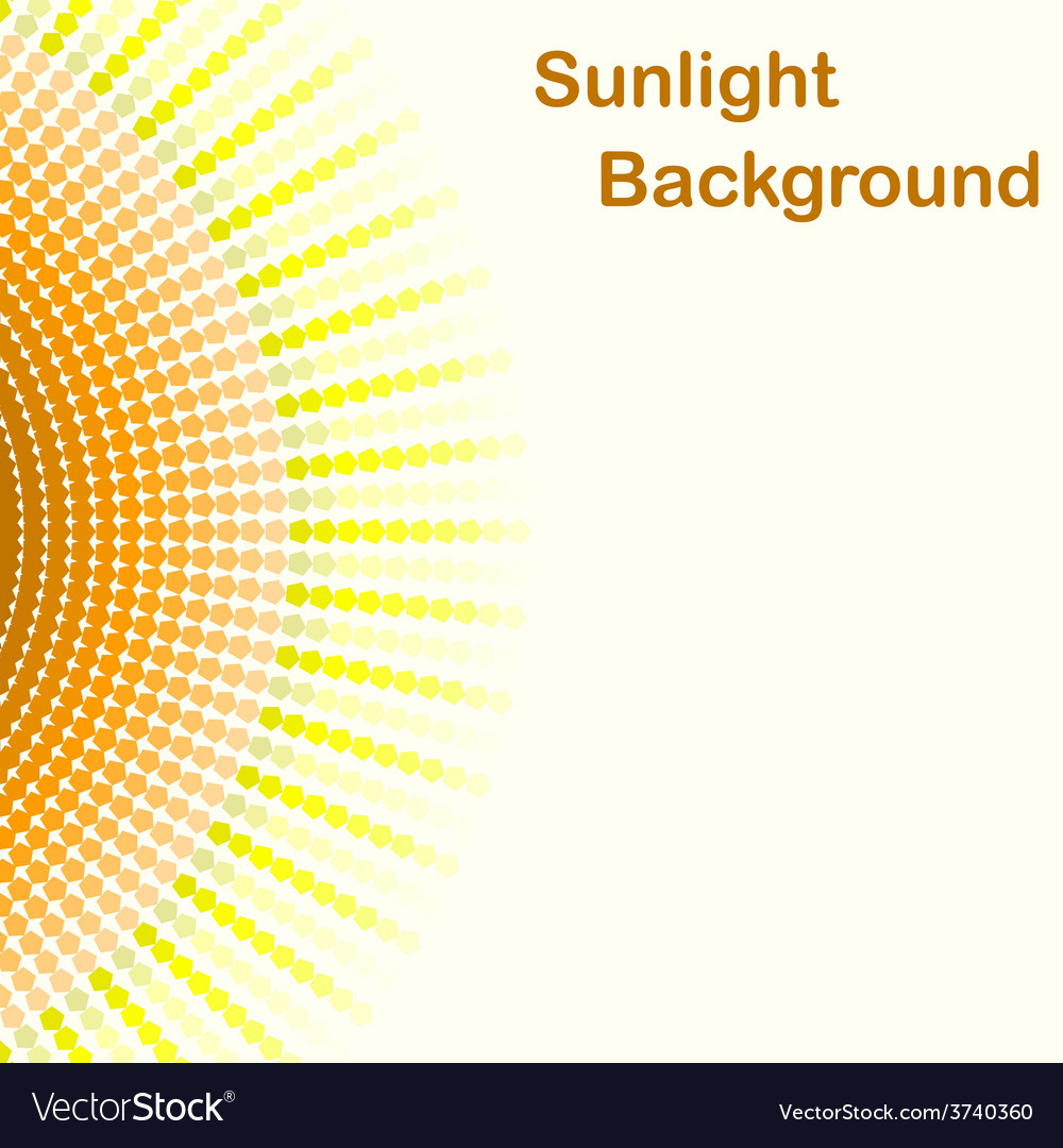 Colorful sunlight background vector | Price: 1 Credit (USD $1)