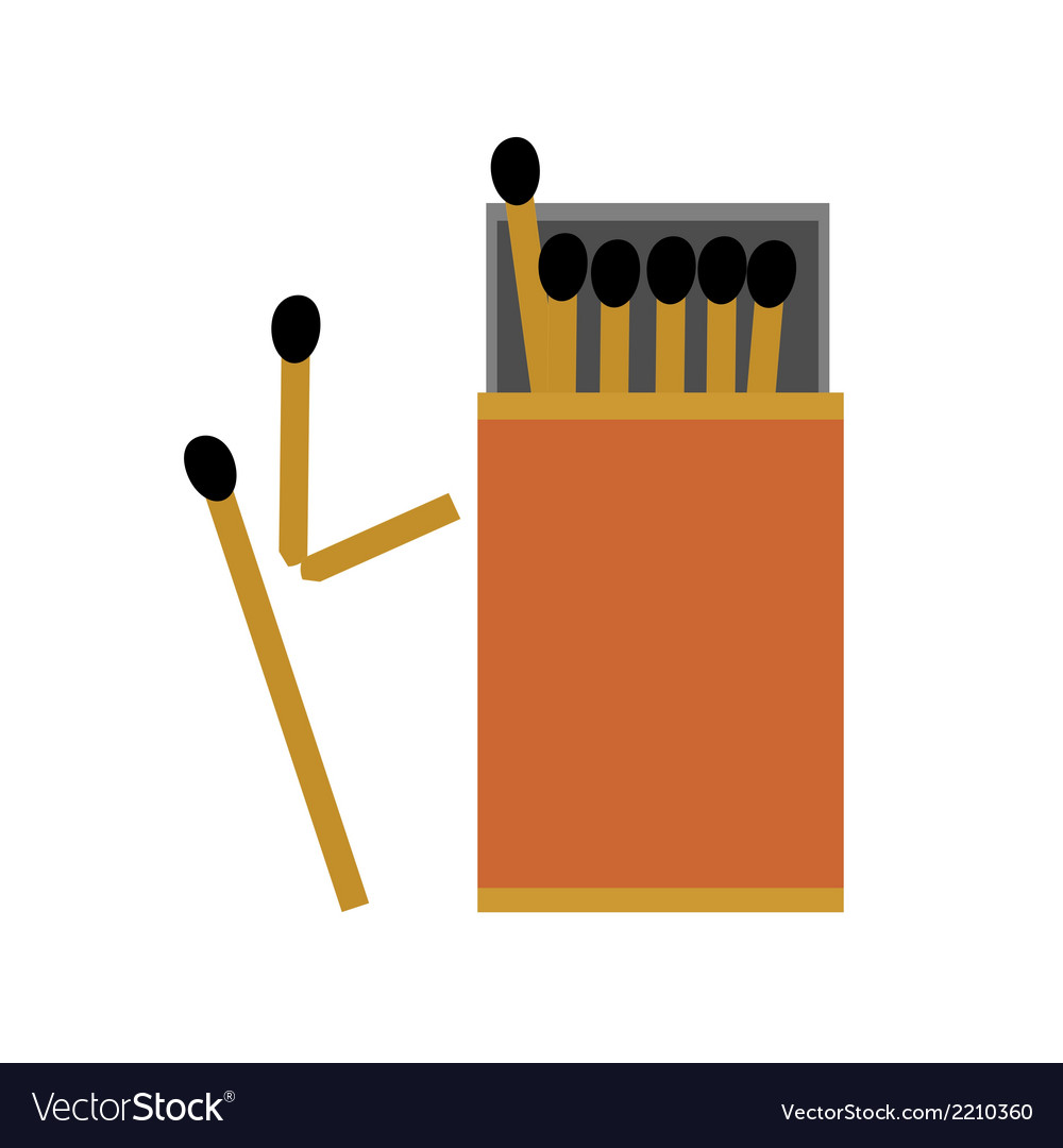 Match box vector | Price: 1 Credit (USD $1)