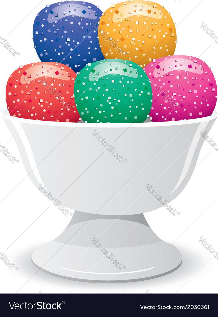 Fruit jelly vector | Price: 1 Credit (USD $1)