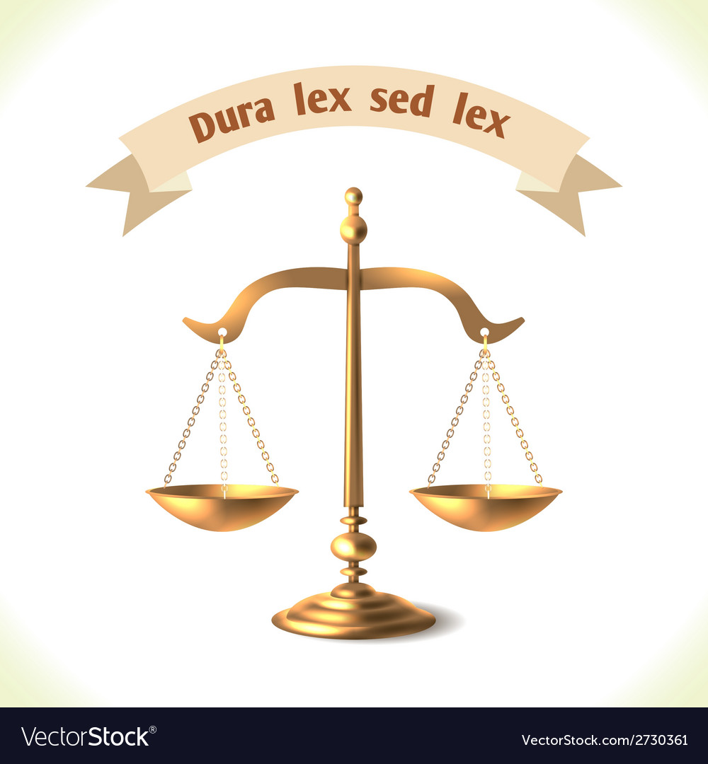 Law icon court scale vector | Price: 1 Credit (USD $1)