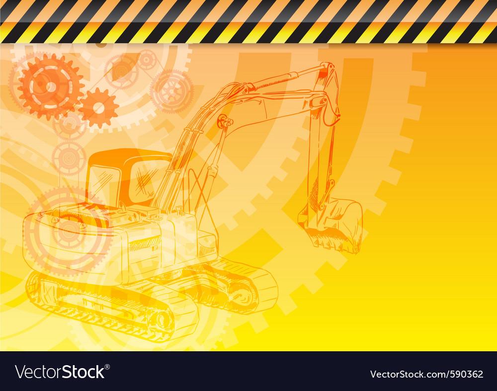 Construction theme vector | Price: 1 Credit (USD $1)