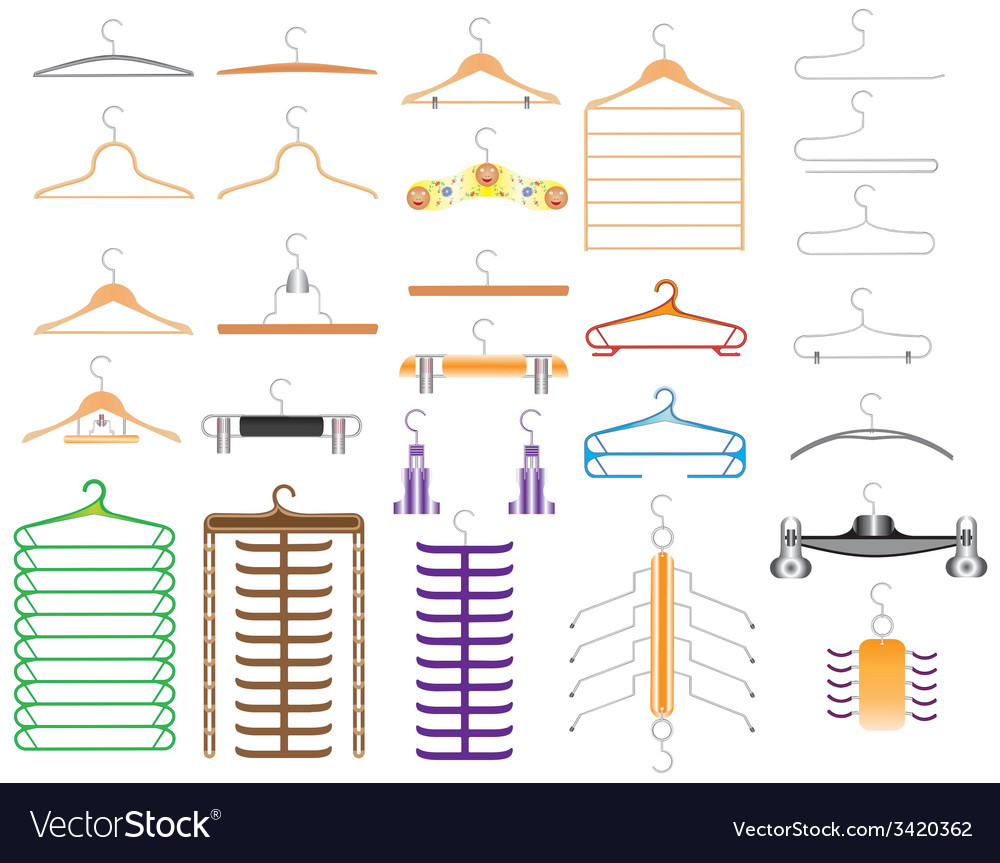 Hanger for clothes vector | Price: 1 Credit (USD $1)