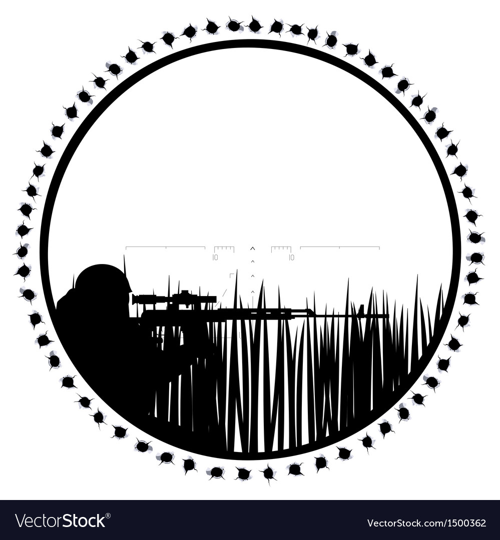 Sniper-1 vector | Price: 1 Credit (USD $1)