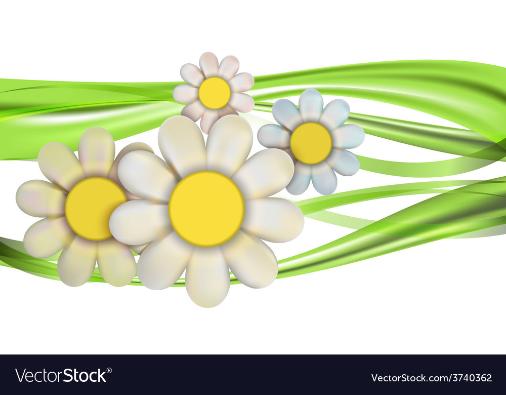 Spring flower vector | Price: 3 Credit (USD $3)