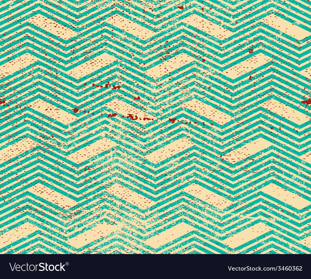 Vintage geometric pattern with dirt texture old vector | Price: 1 Credit (USD $1)
