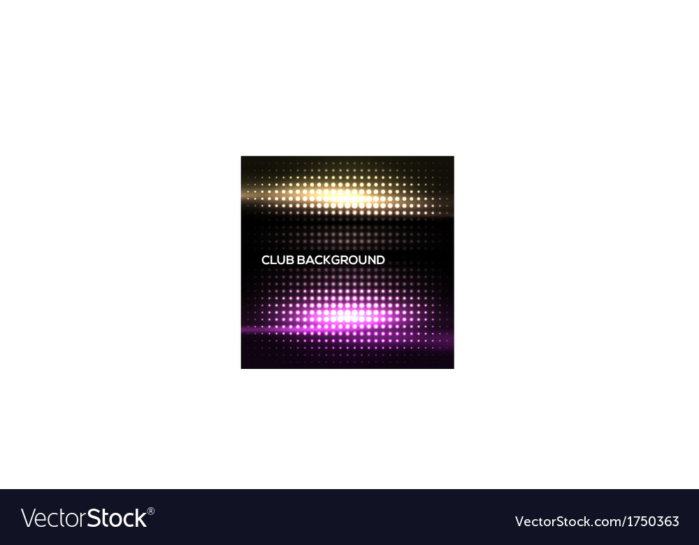 Abstract colorful disco club background vector | Price: 1 Credit (USD $1)