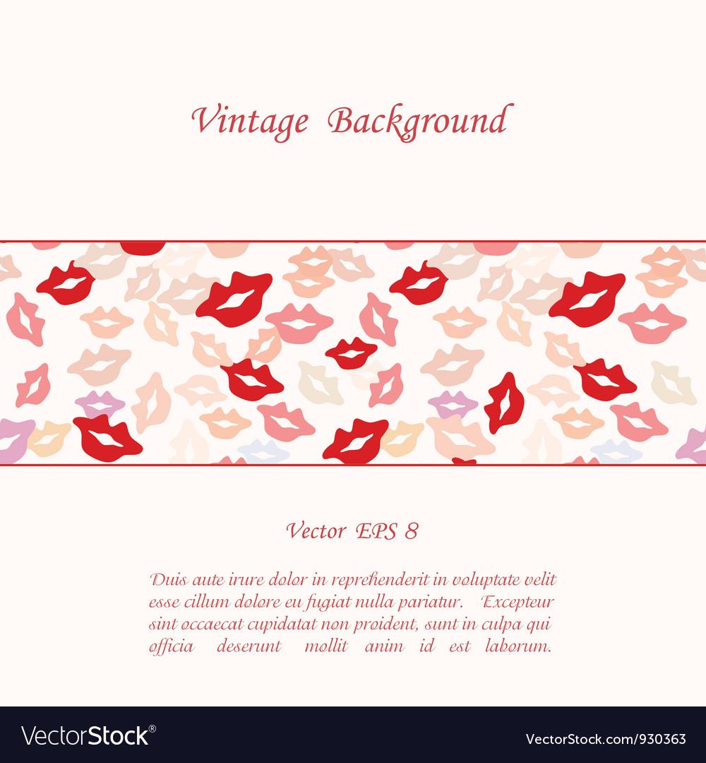 Romantic background vector | Price: 1 Credit (USD $1)