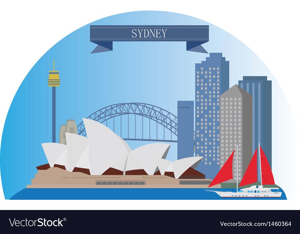 Sydney vector | Price: 1 Credit (USD $1)