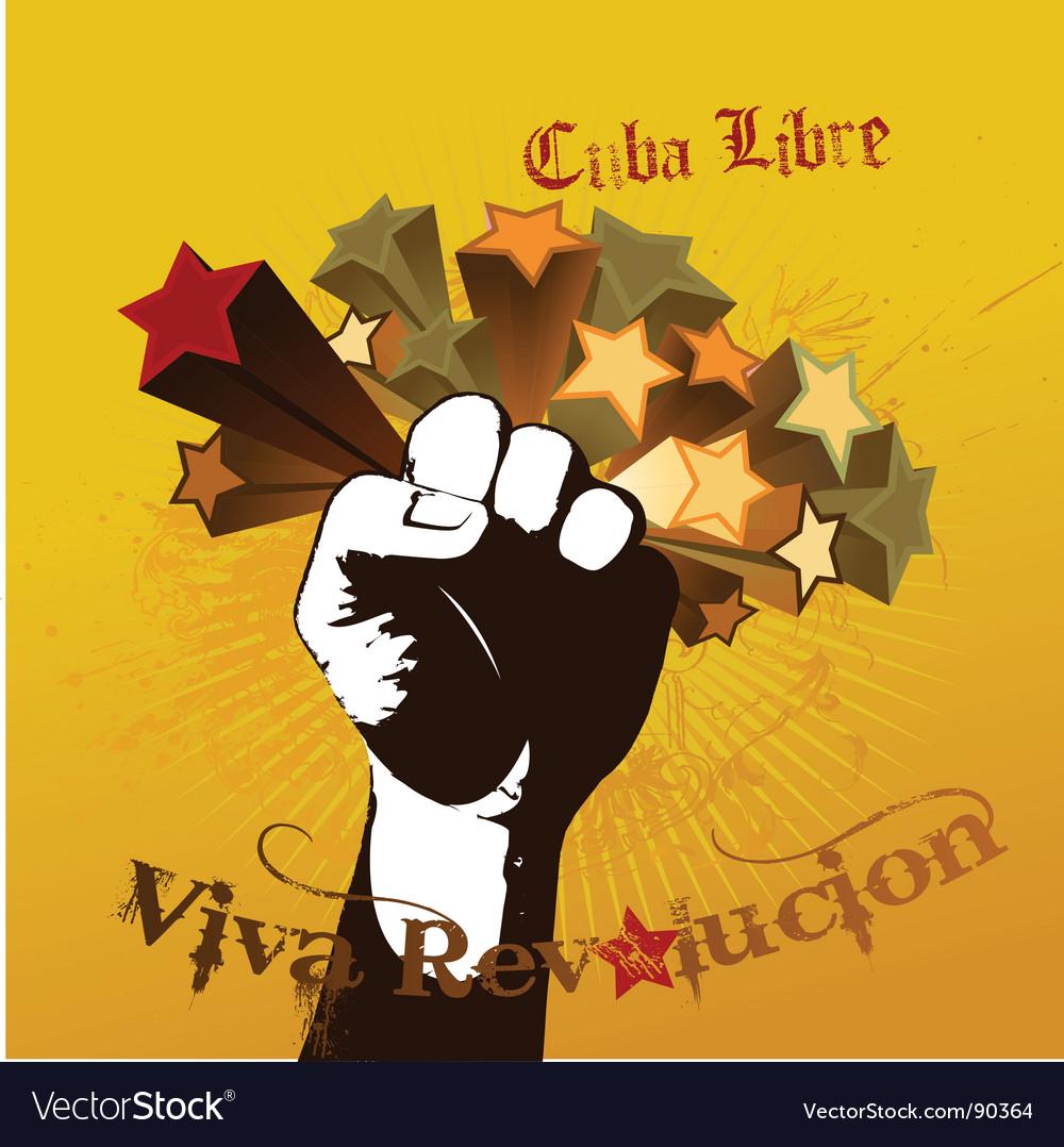 Viva revolution vector | Price: 1 Credit (USD $1)