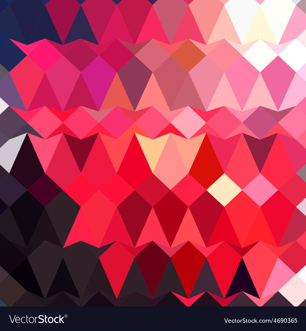 Alizarin crimson abstract low polygon background vector | Price: 1 Credit (USD $1)