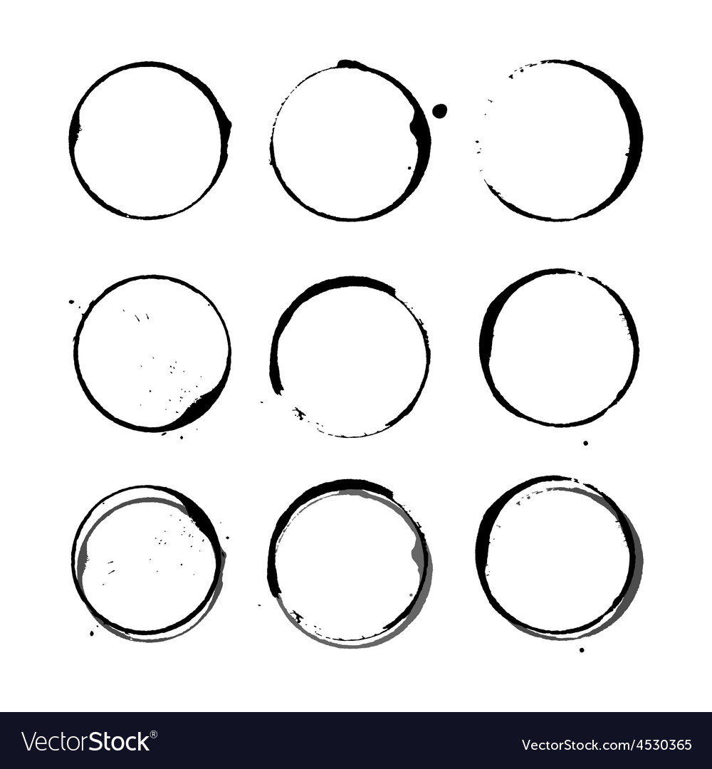 Wine stain circles vector   Price: 1 Credit (USD $1)