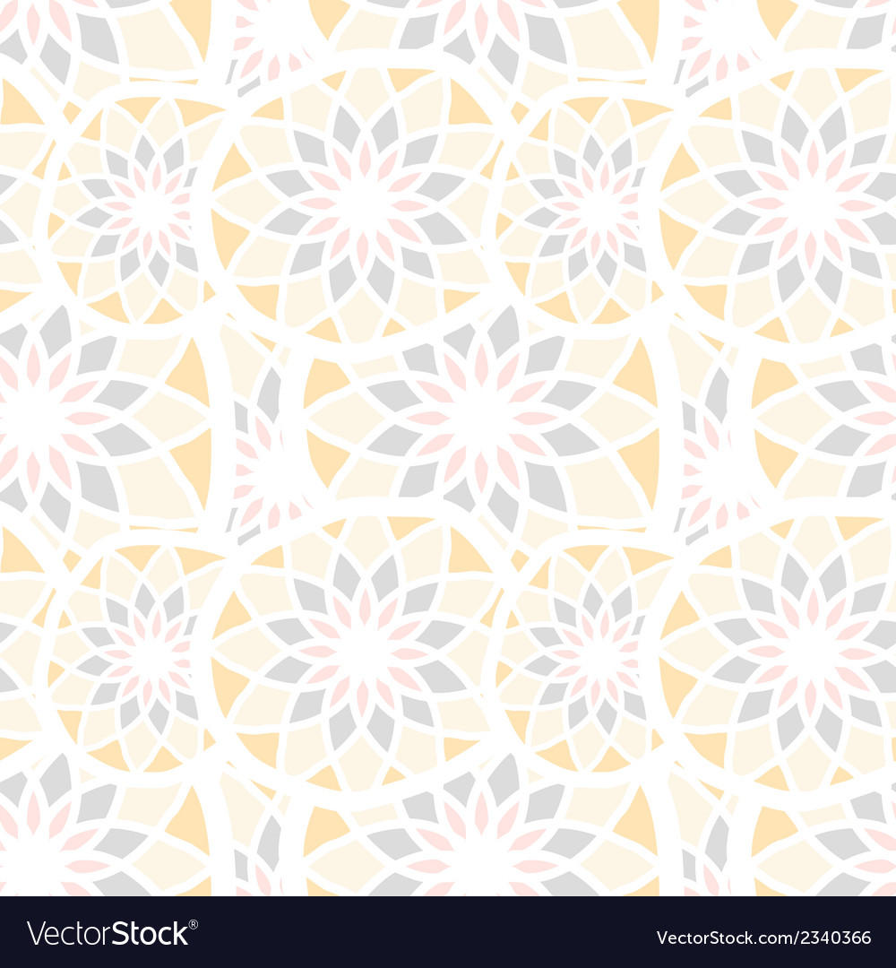 Abstract seamless texture with mosaic elements vector | Price: 1 Credit (USD $1)