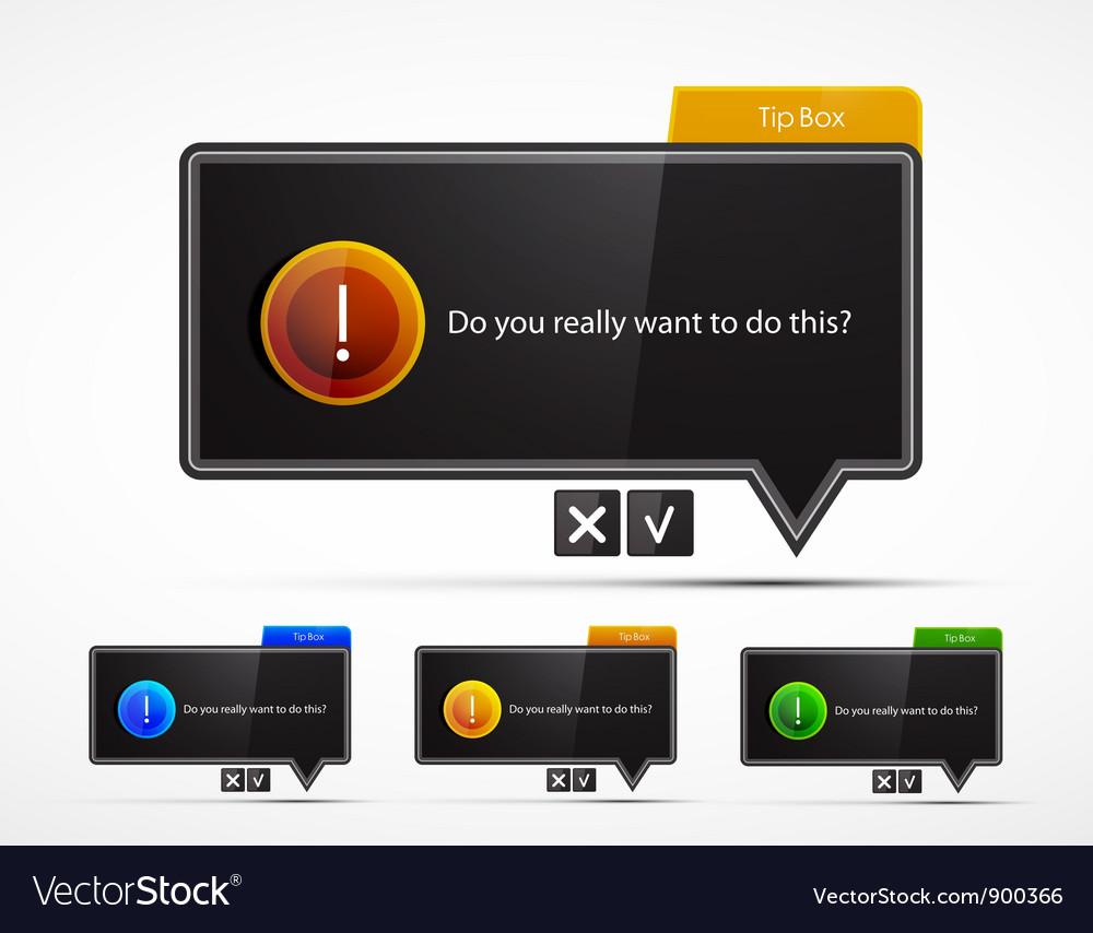 Black speech bubble web boxes vector   Price: 1 Credit (USD $1)