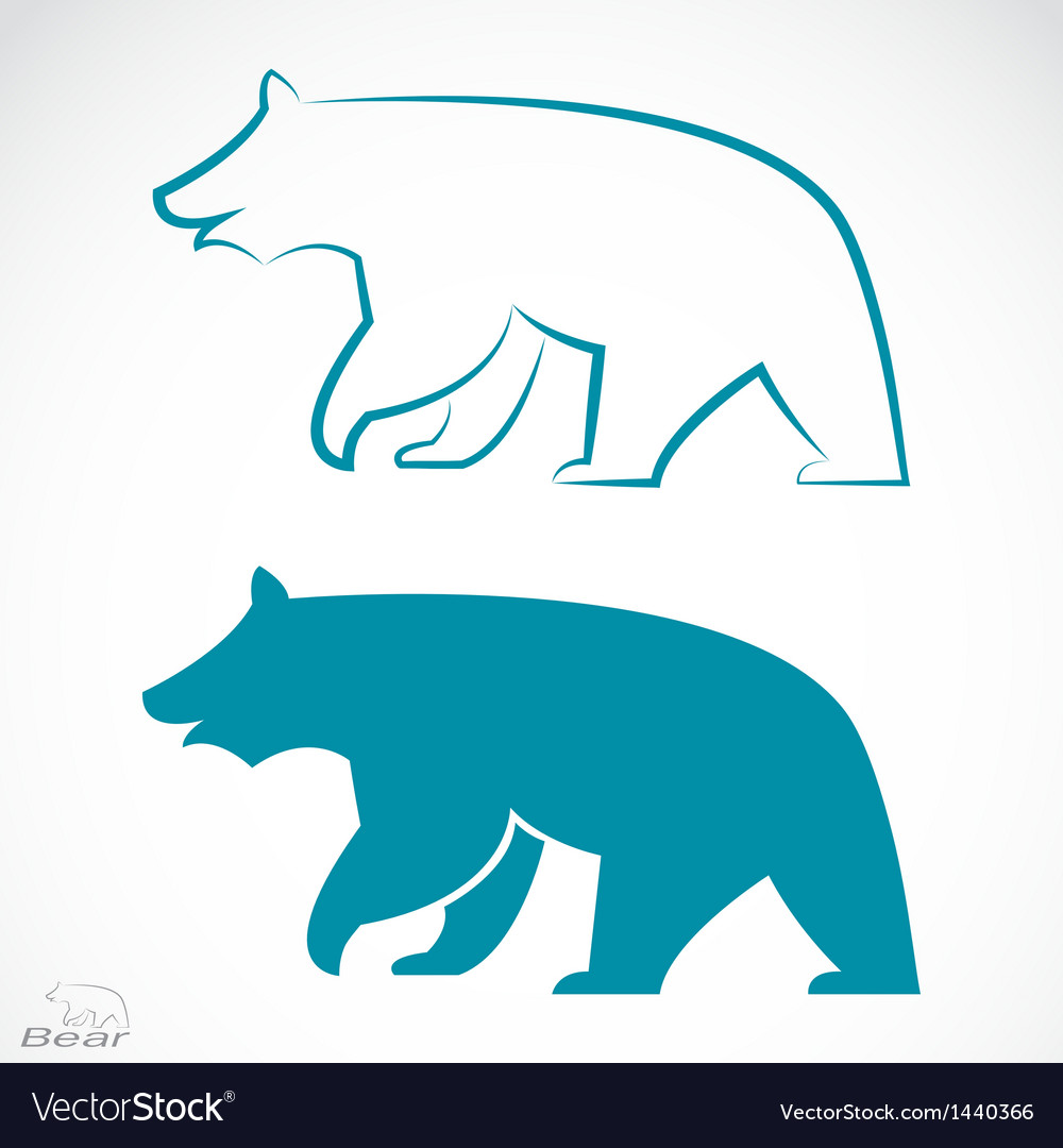 Image of an bear vector