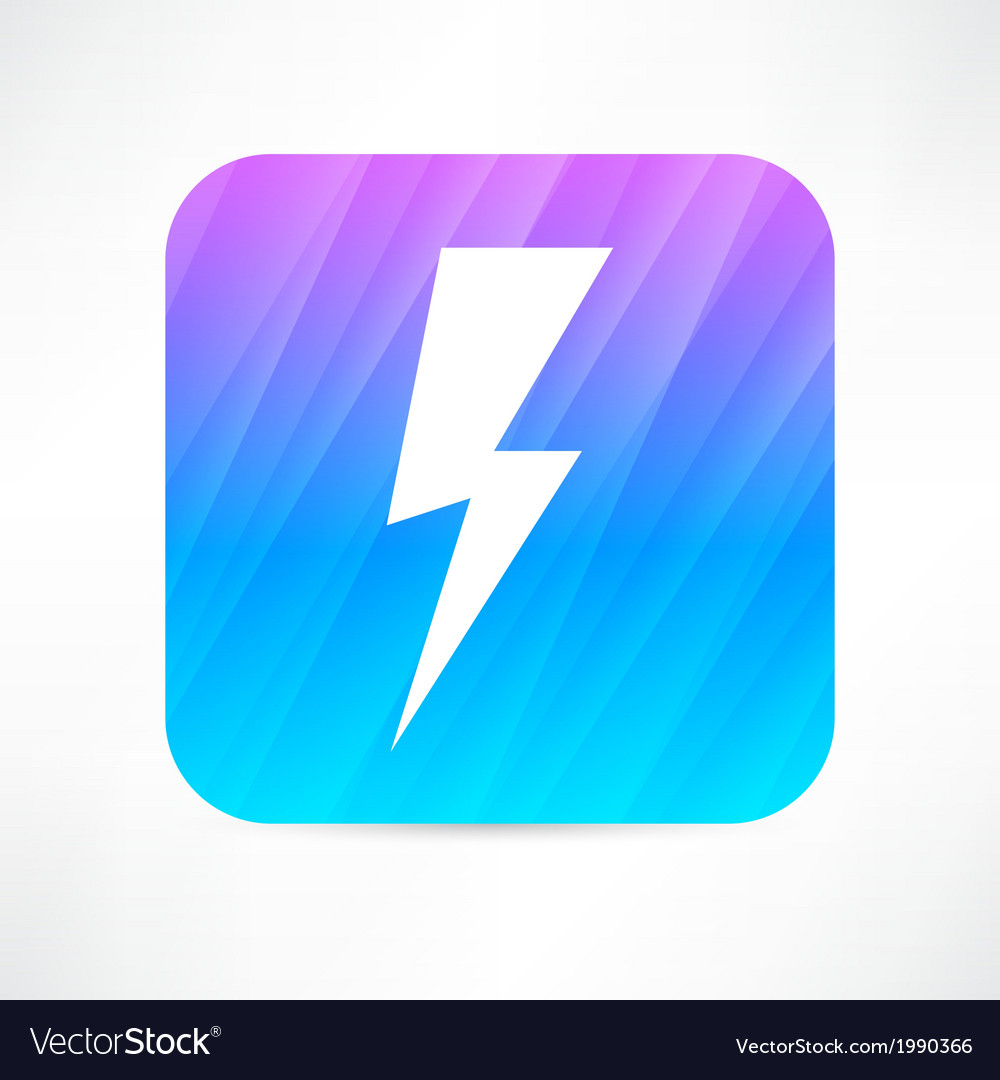 Lightning icon vector | Price: 1 Credit (USD $1)