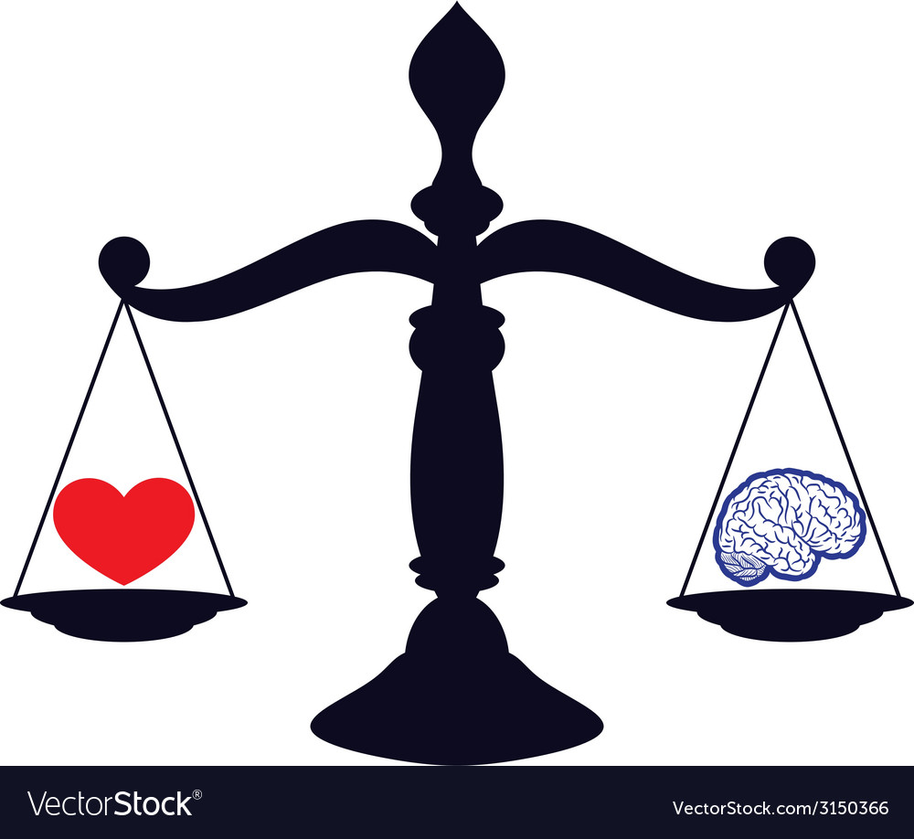 Love and brain vector | Price: 1 Credit (USD $1)