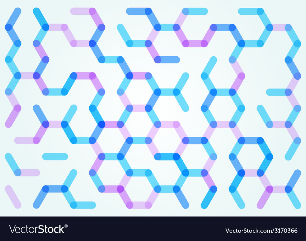 Seamless pattern of the hexagonal net vector | Price: 1 Credit (USD $1)