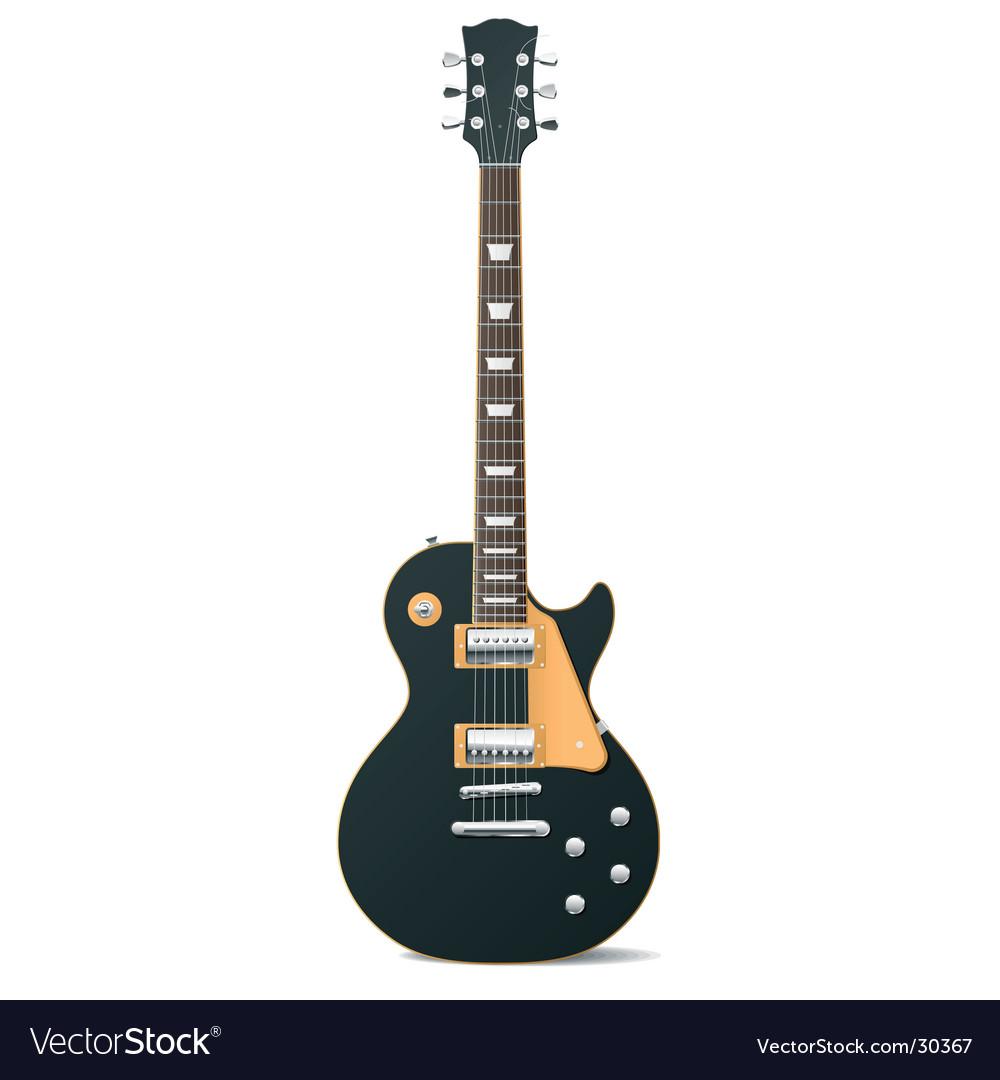 Electric guitar vector | Price: 1 Credit (USD $1)