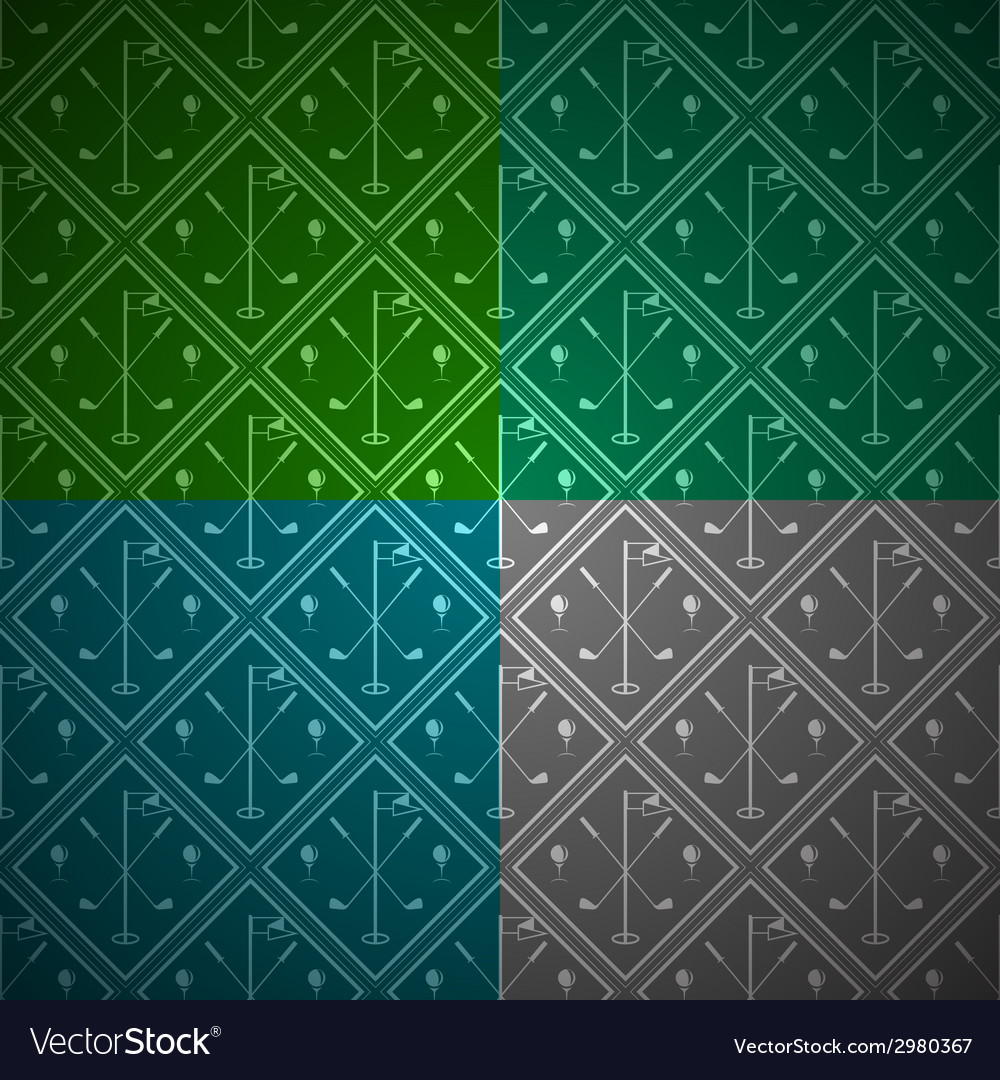 Seamless background for golf vector | Price: 1 Credit (USD $1)