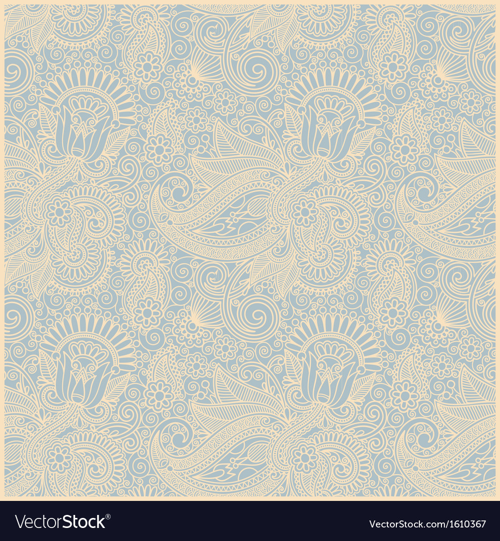 Vintage wallpaper background vector | Price: 1 Credit (USD $1)