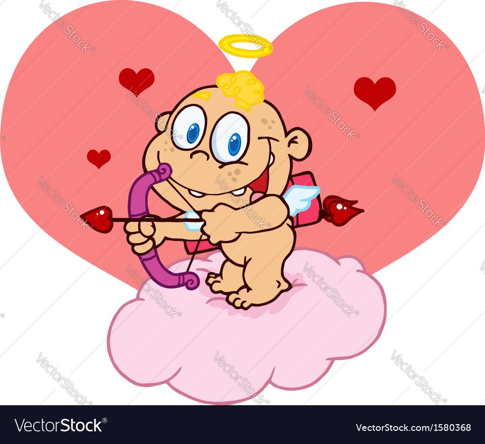 Cupid cartoon vector | Price: 1 Credit (USD $1)