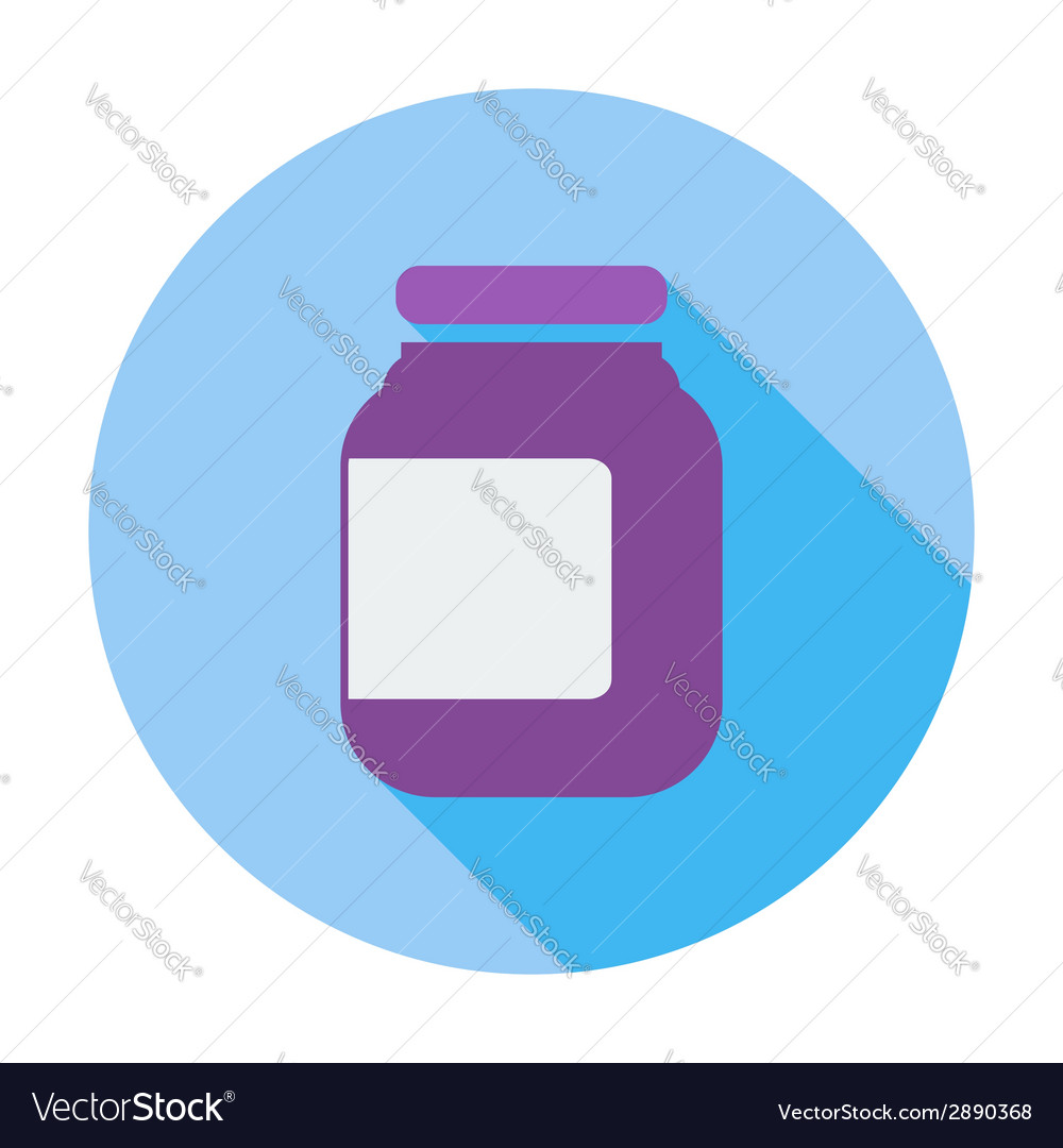 Jar icon vector | Price: 1 Credit (USD $1)