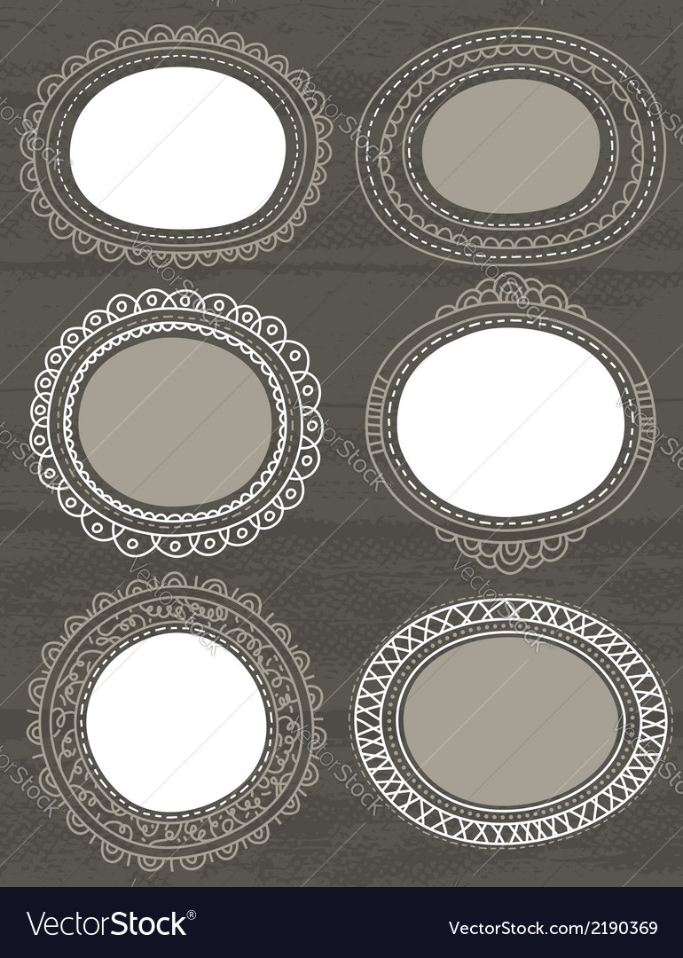 Decorative circle labels suitable for design vector | Price: 1 Credit (USD $1)