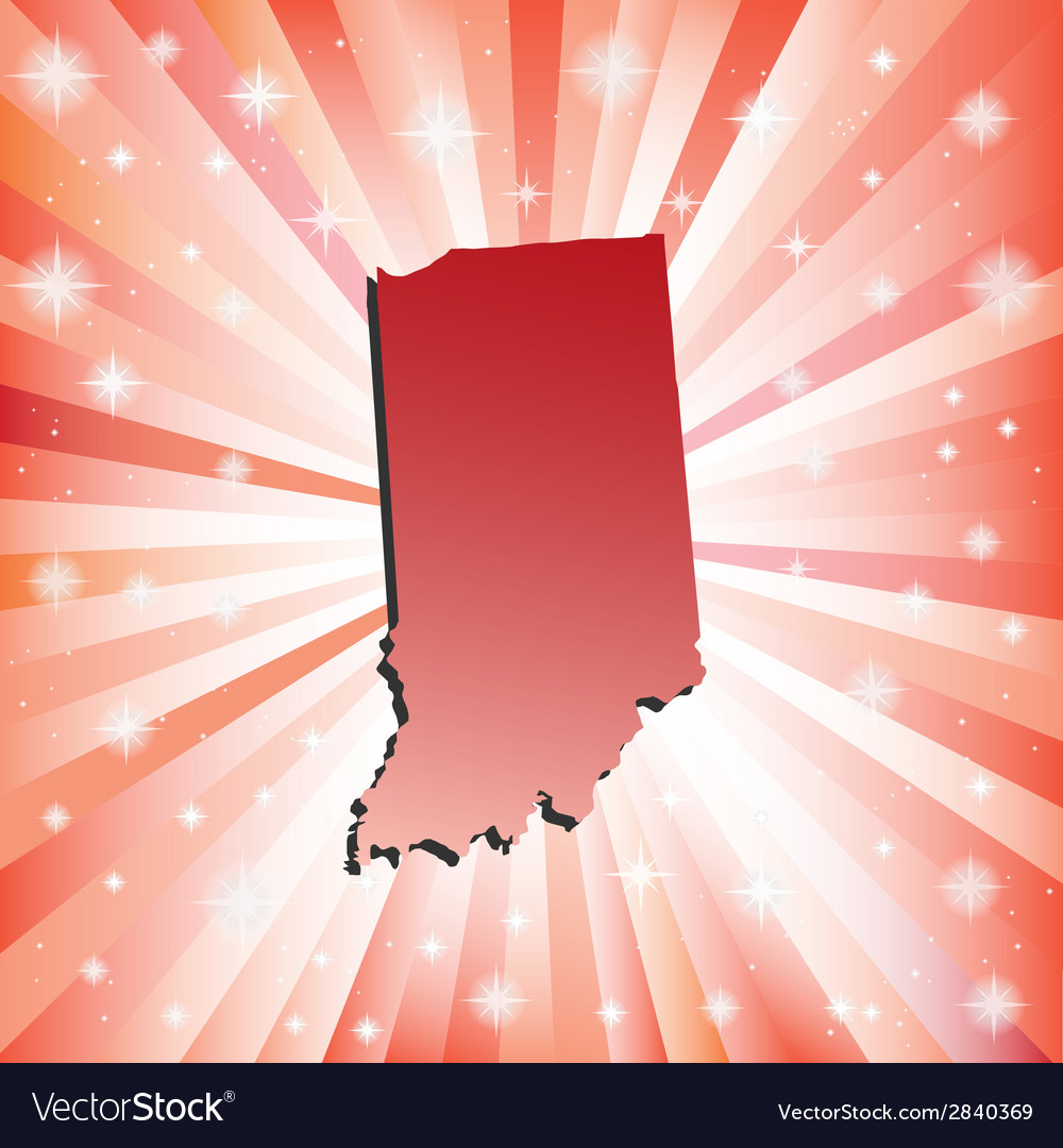 Red indiana vector | Price: 1 Credit (USD $1)