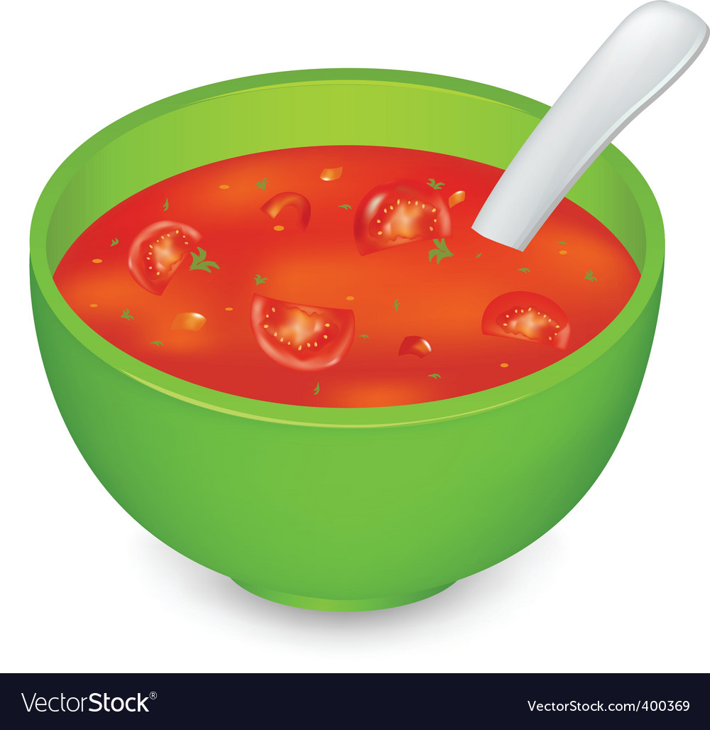 Tomato soup vector | Price: 1 Credit (USD $1)