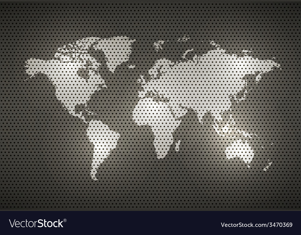 World map metal texture vector | Price: 1 Credit (USD $1)