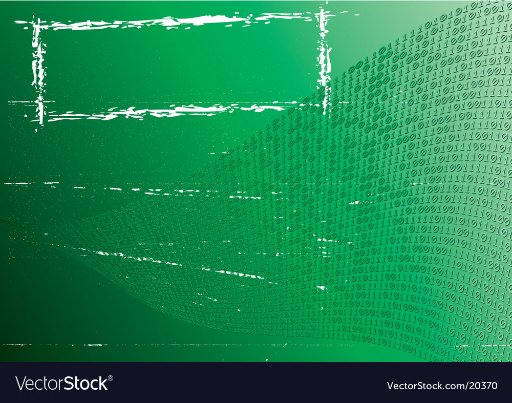 Abstract green background label grunge vector | Price: 1 Credit (USD $1)