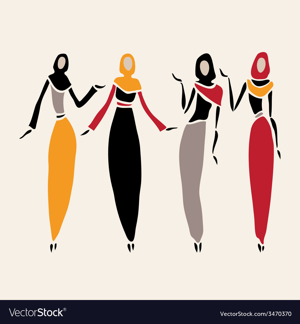 East women in veiled vector | Price: 1 Credit (USD $1)