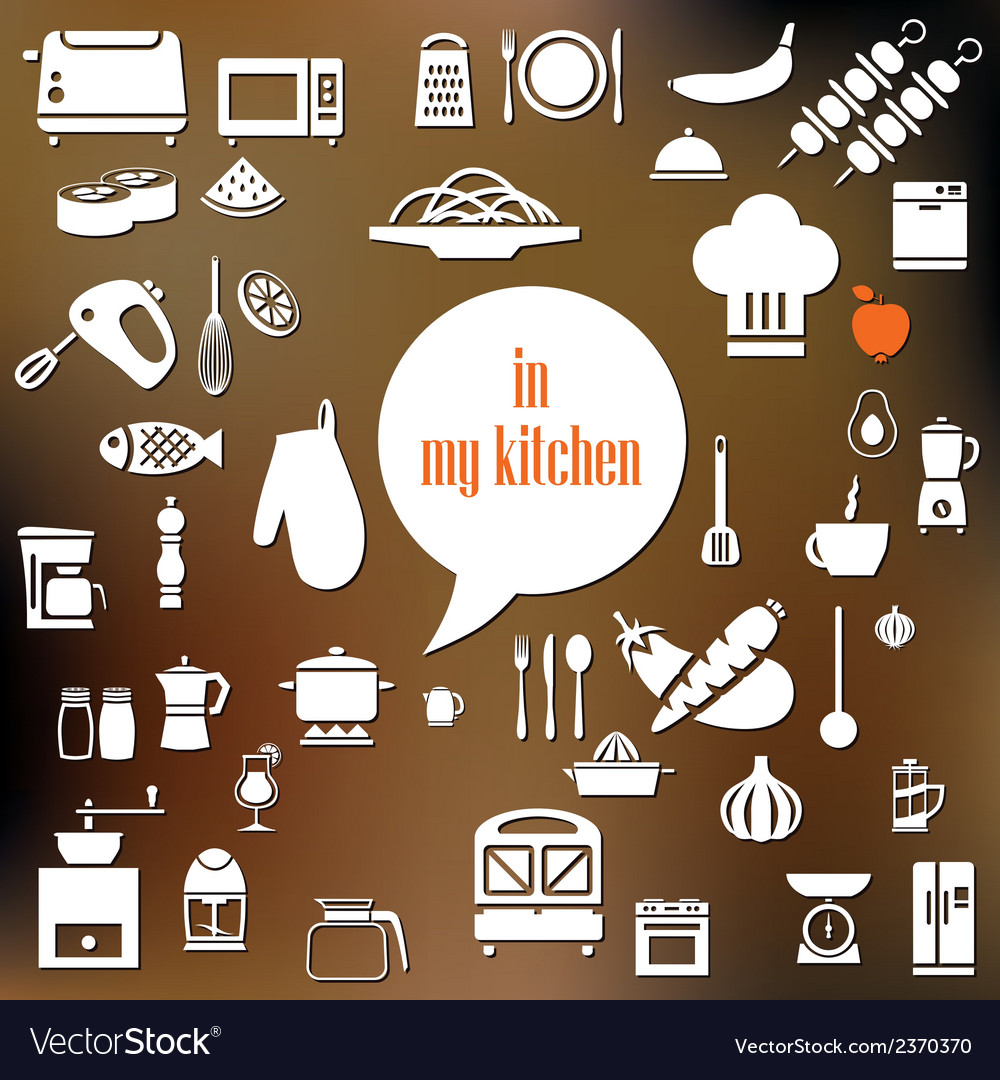 Kitchen poster vector | Price: 1 Credit (USD $1)