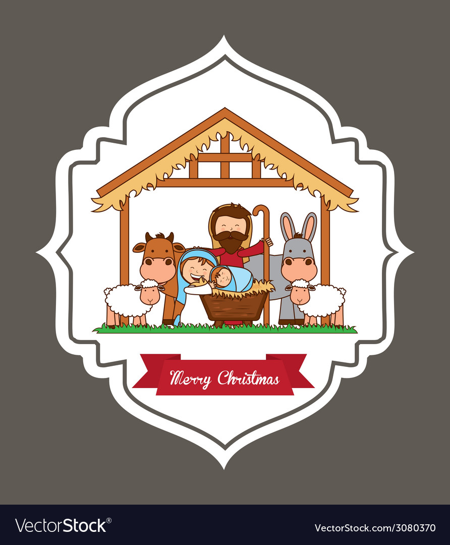 Merry christmas design vector | Price: 1 Credit (USD $1)