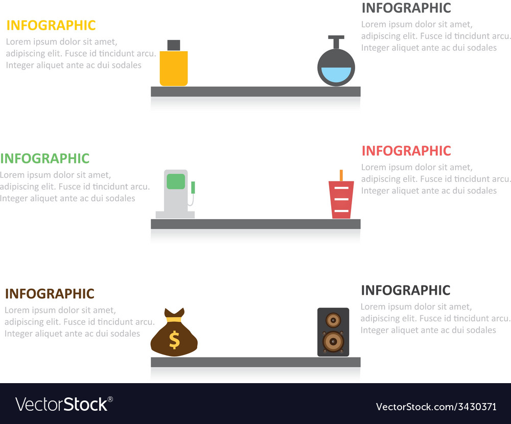 Infographic 194 vector | Price: 1 Credit (USD $1)