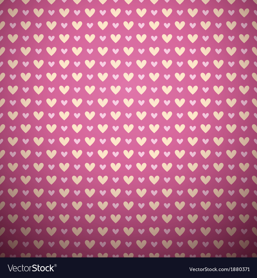 Romantic seamless pattern tiling vector | Price: 1 Credit (USD $1)