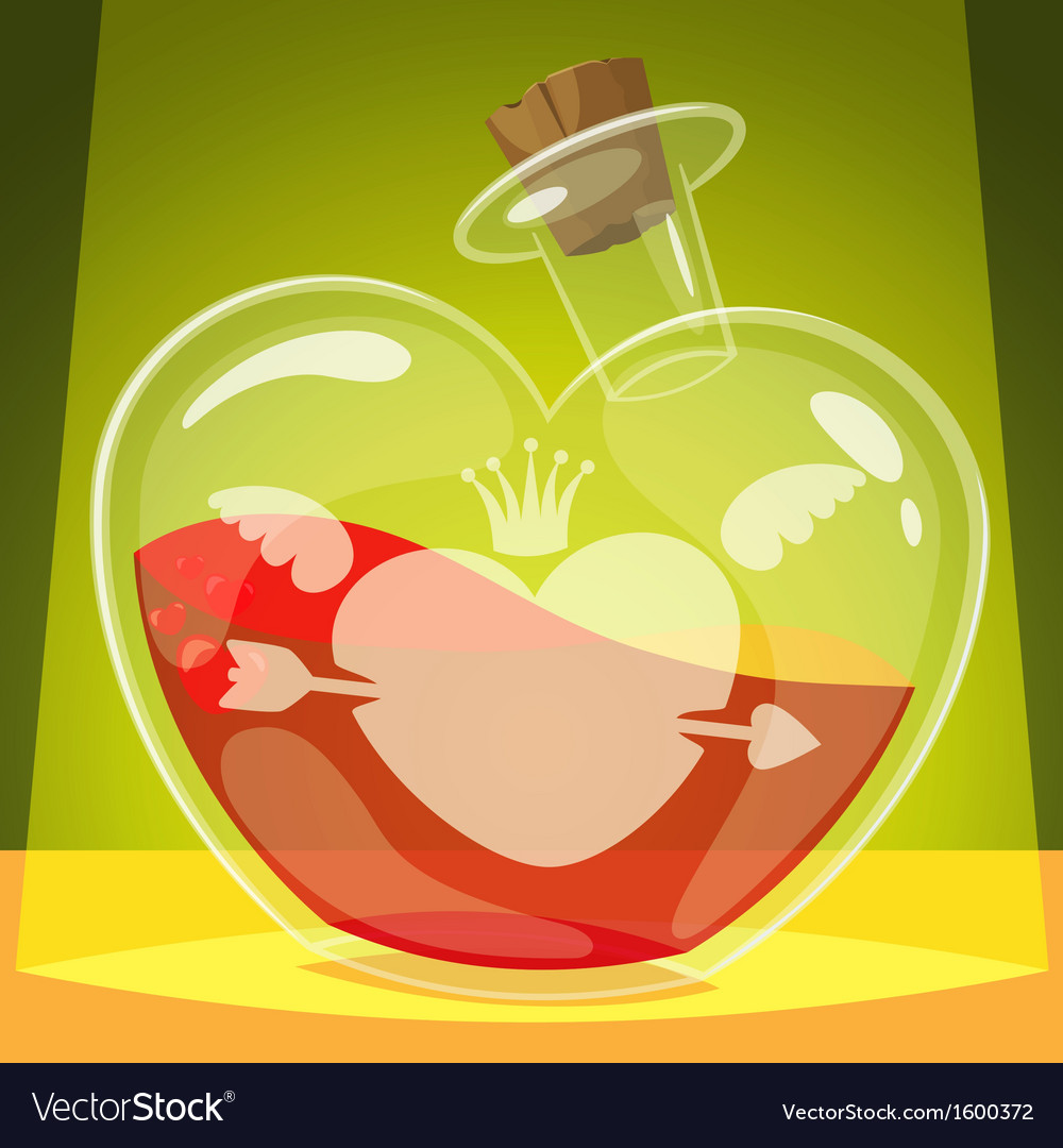 Love potion vector | Price: 1 Credit (USD $1)