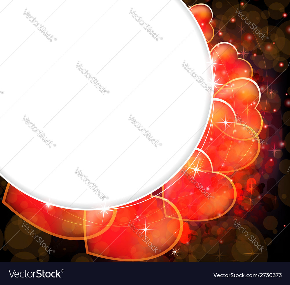 Abstract valentines card vector | Price: 1 Credit (USD $1)