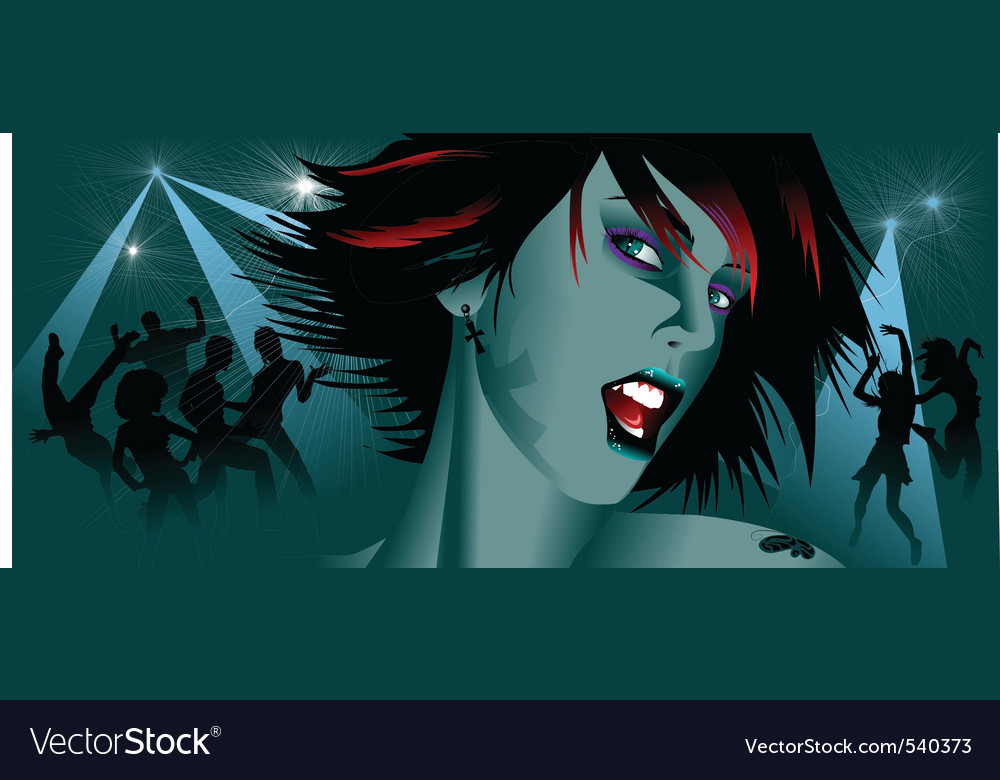 Disco diva vector | Price: 1 Credit (USD $1)