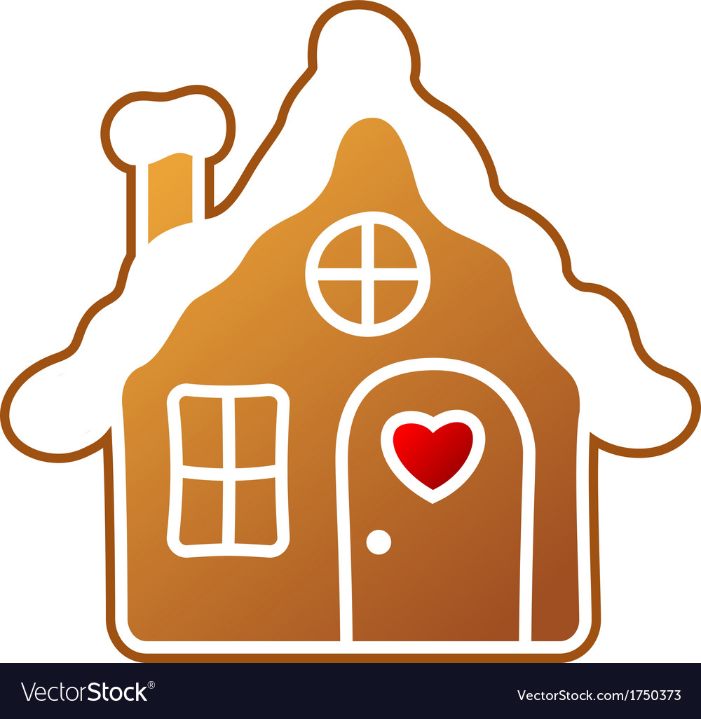 Gingerbread home vector | Price: 1 Credit (USD $1)