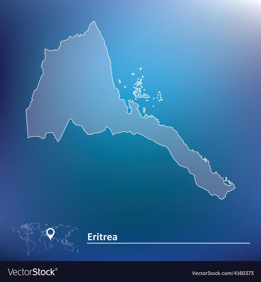 Map of eritrea vector | Price: 1 Credit (USD $1)