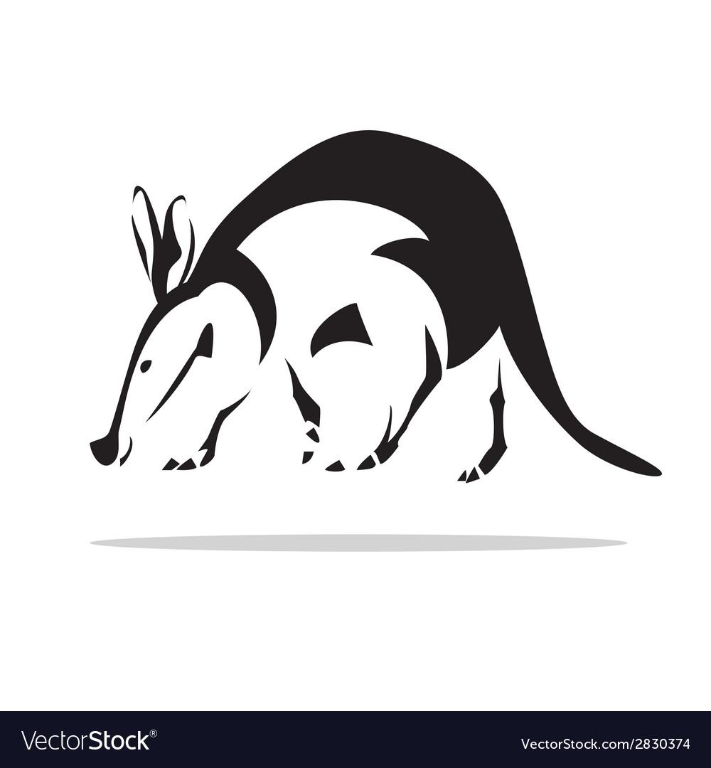 Aardvark vector   Price: 1 Credit (USD $1)