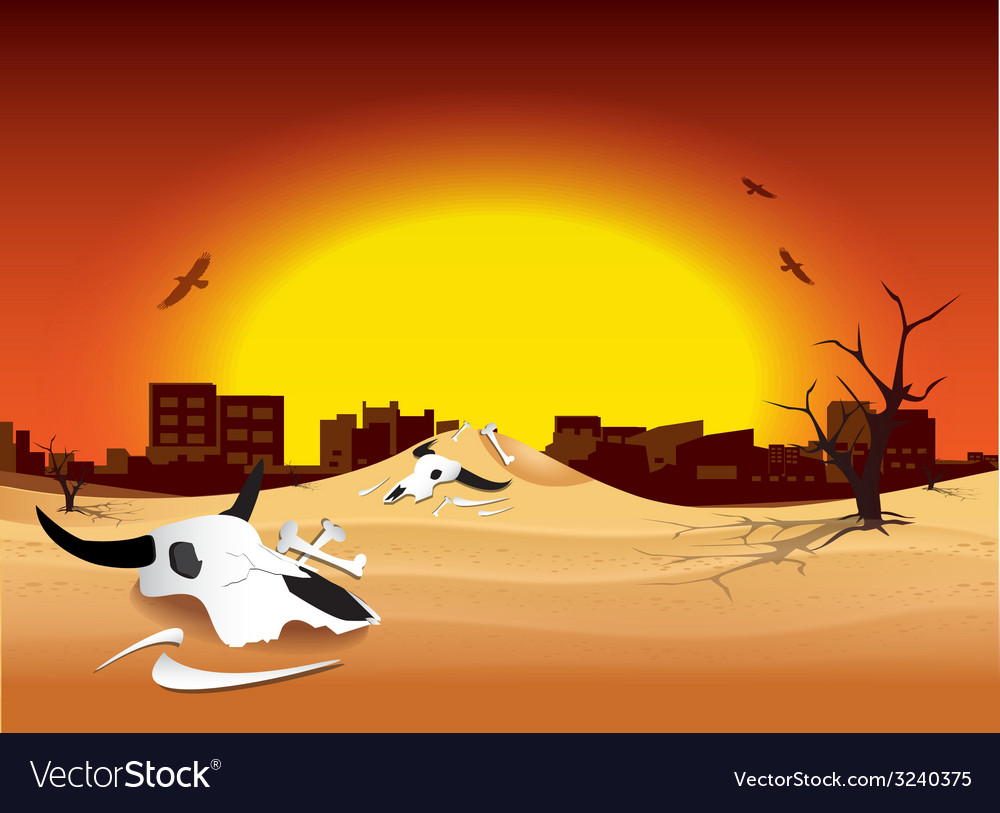 Global warming design 02 vector | Price: 1 Credit (USD $1)
