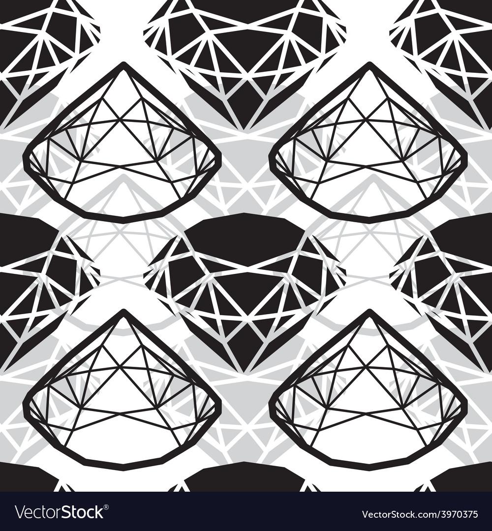 Seamless deamond new 01 vector | Price: 1 Credit (USD $1)