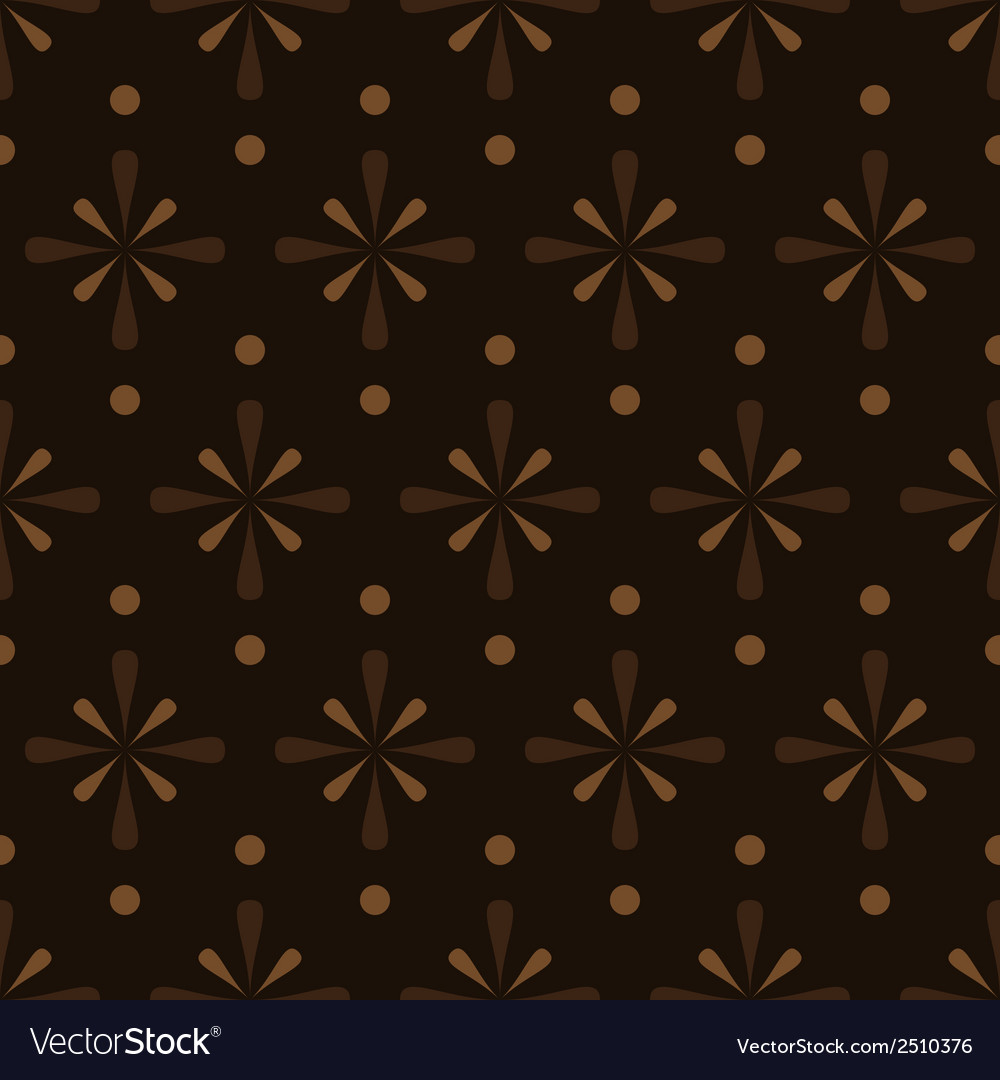 Abstract brown seamless pattern eps10 vector | Price: 1 Credit (USD $1)
