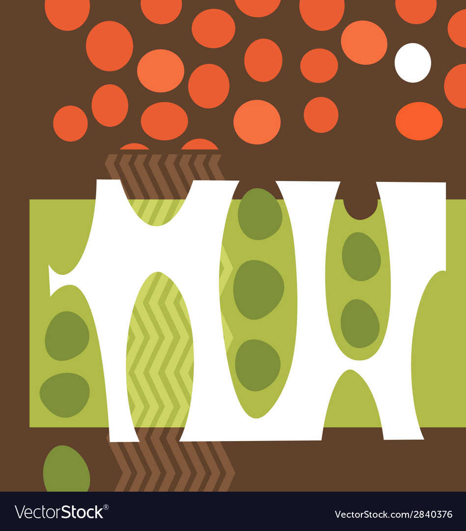 Abstract pea pods tomatoes garden collage vector   Price: 1 Credit (USD $1)