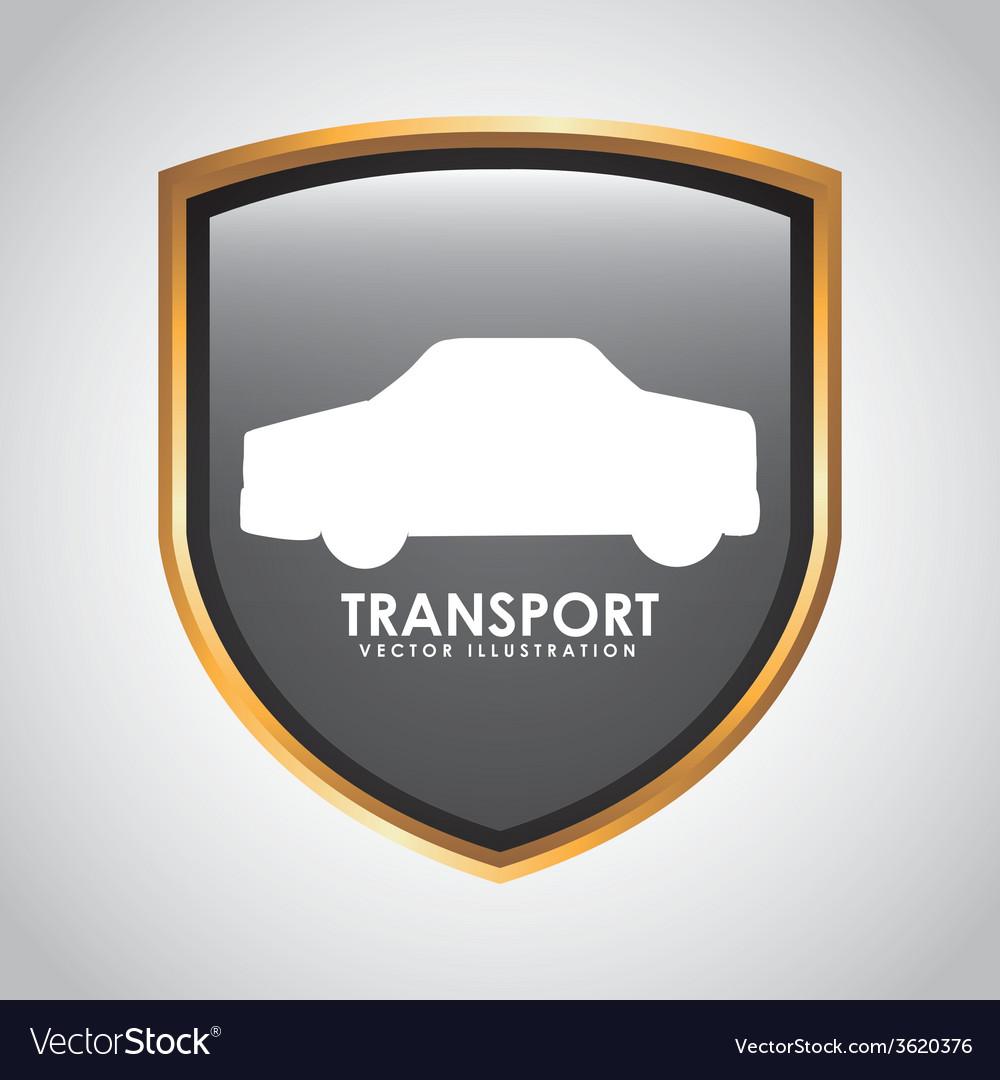 Transport signal design vector | Price: 1 Credit (USD $1)