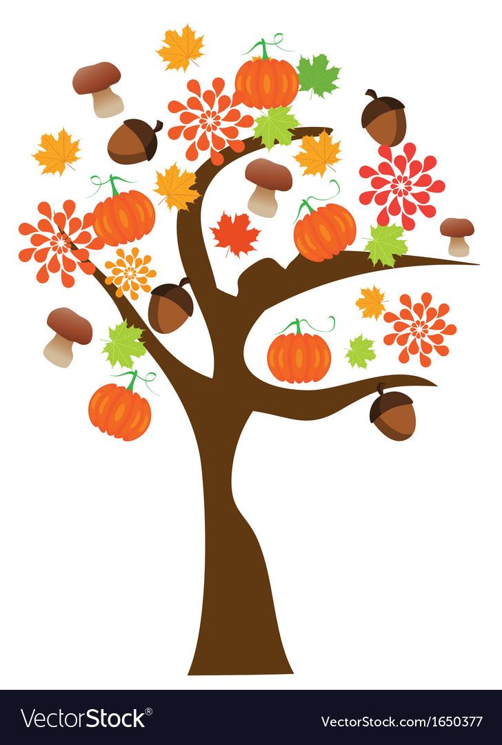 Autumn tree vector   Price: 1 Credit (USD $1)