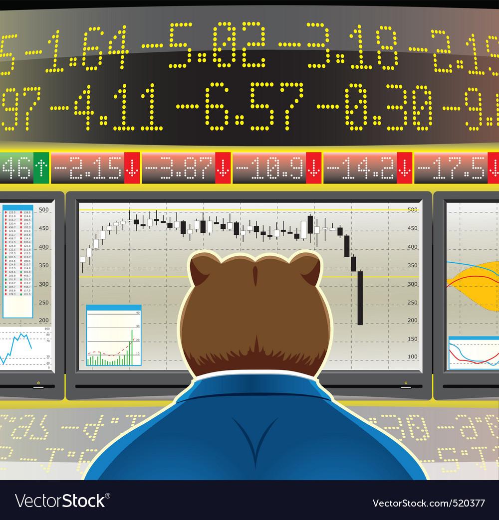 Bear market vector   Price: 3 Credit (USD $3)