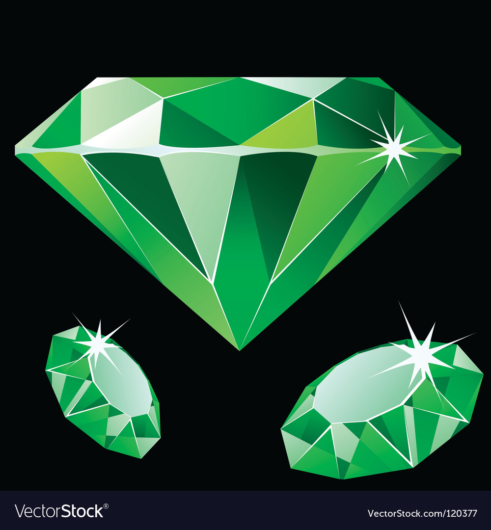 Emerald vector | Price: 1 Credit (USD $1)
